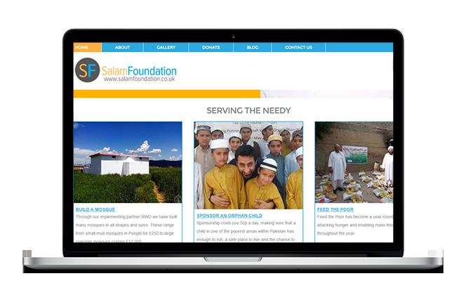 Charity Website Design