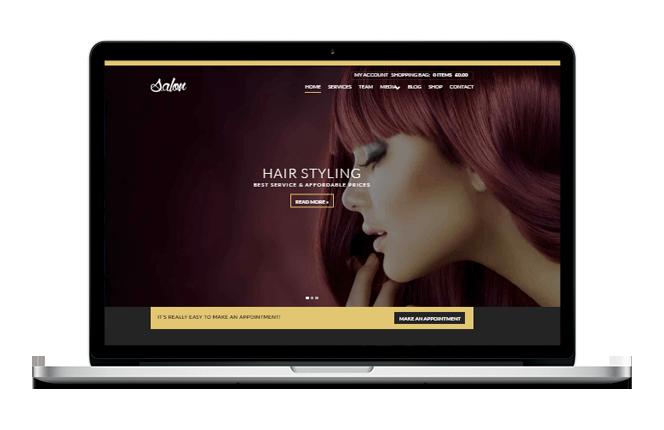 Sloane / Hair Styling Website Design
