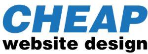 cheap web site design