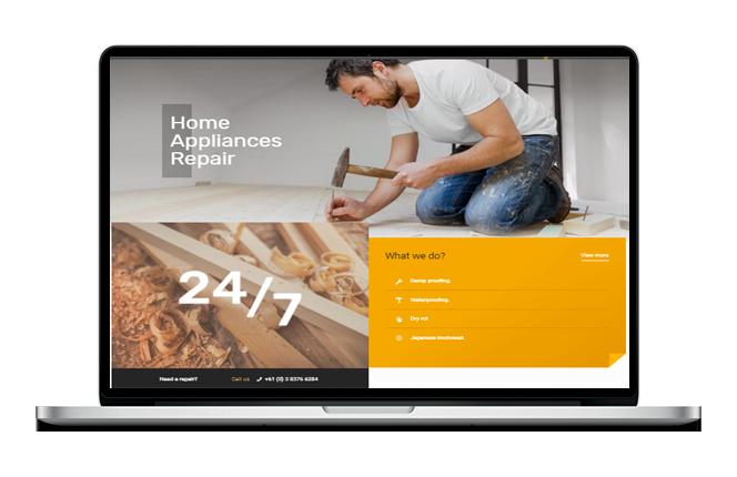 Builder Website Design